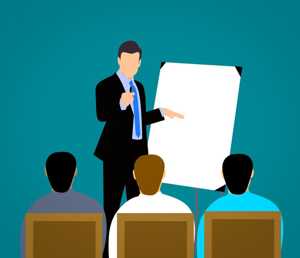 præsentationsteknik kursus konstruktiv feedback